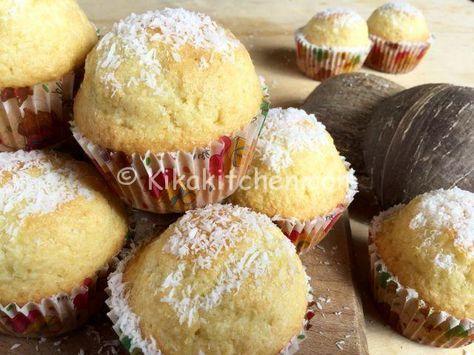 Dolci Da Credenza Alice Ricette : Muffin al cocco alti e soffici con o senza burro ricetta dolci