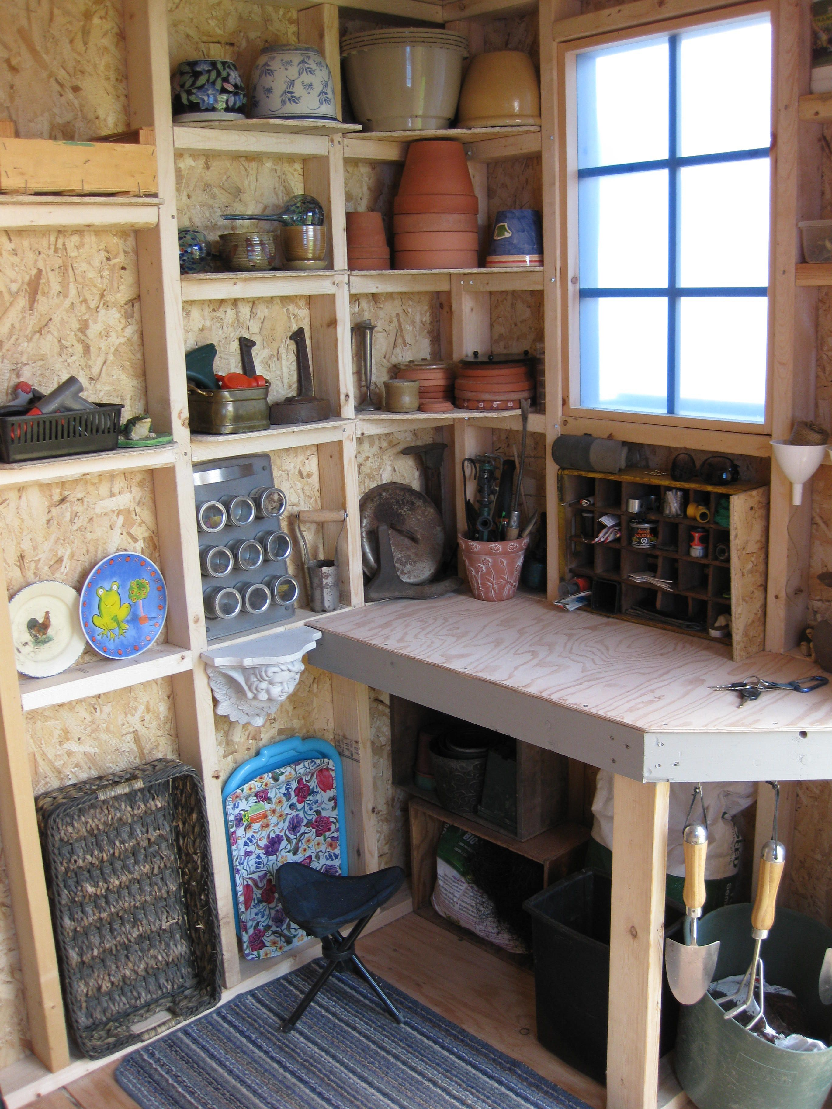 Tools For Woodworking Shop Shed Interior Storage Shed