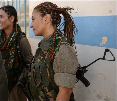 El mundo entero habla de nosotras, las mujeres kurdas