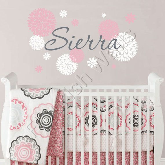 wall to decal or decals name a our personalised available touch nursery princess playroom girl girls baby add bedroom your ribbon with little sticker personal wa decor teenage custom