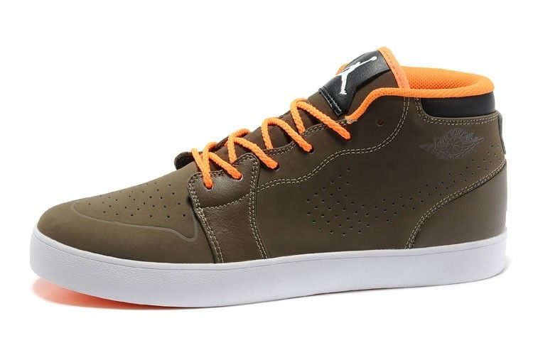 new concept 82a9a b0e2e ... good adidas air jordan v.1 chukka lysbrun orange hvid herre 1fa44 846bb