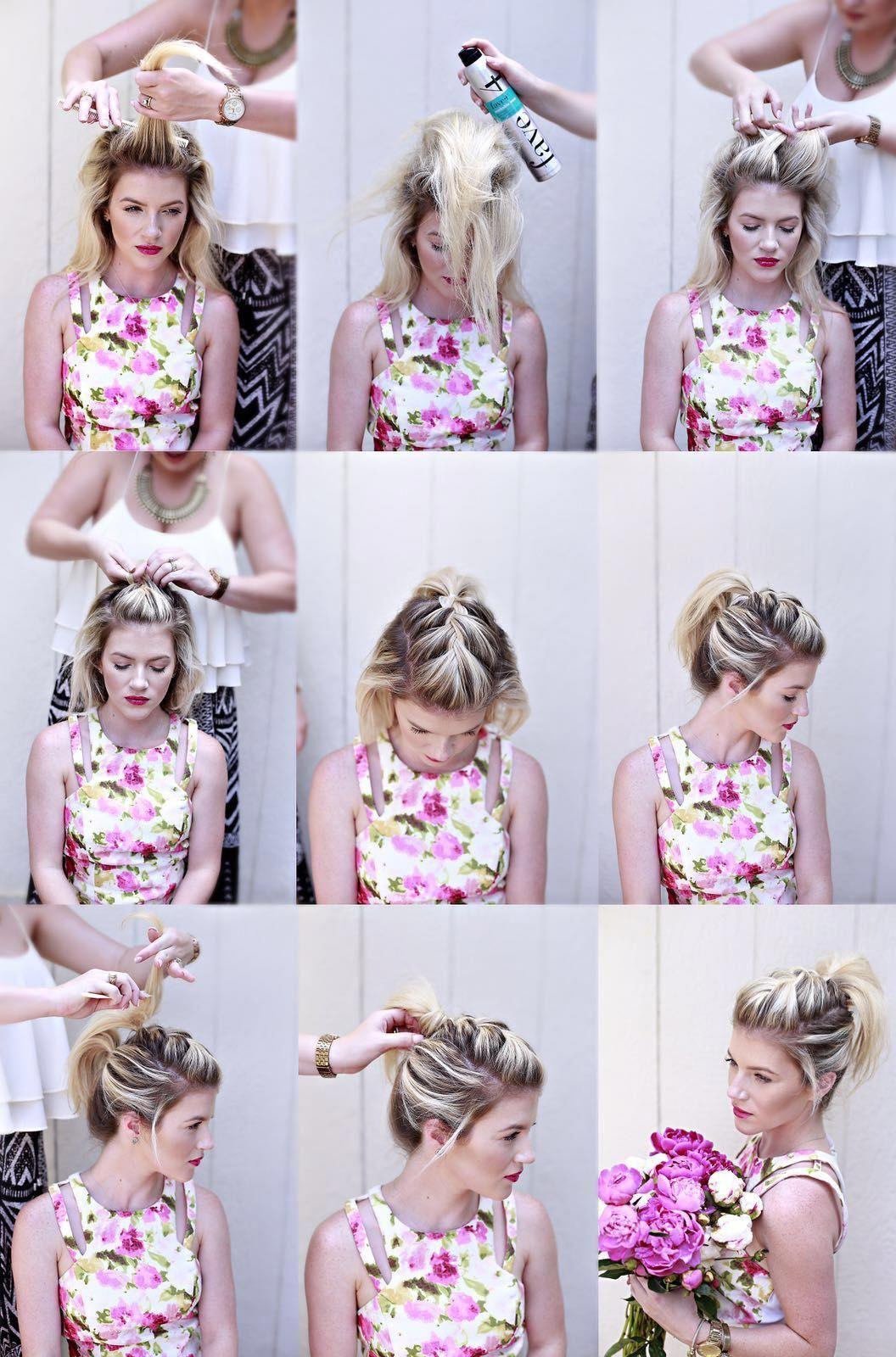 diy ponytail haircut for medium length hair diy hairstyles for wedding diyhairstyles diy hairstyles