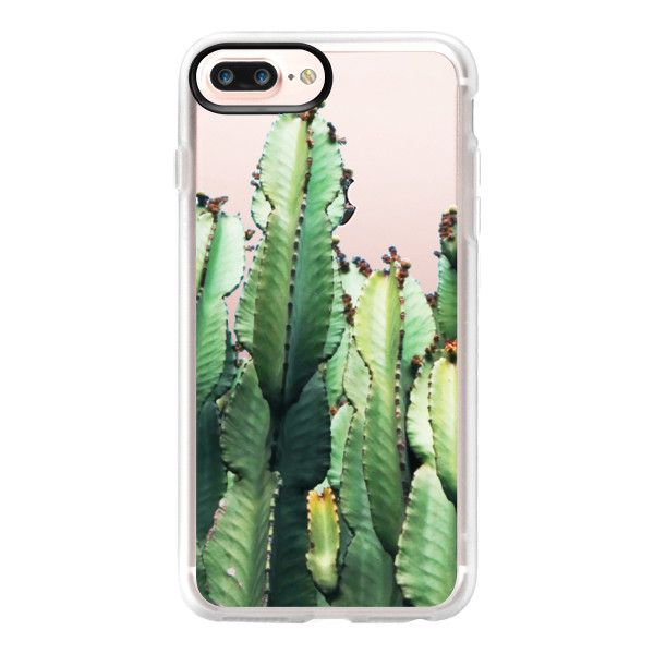 Cactus Love iPhone and iPod Case - iPhone 7 Plus Case And Cover (130 BRL) ❤ liked on Polyvore featuring accessories, tech accessories, iphone case, clear iphone case, apple iphone case, iphone cases and iphone cover case