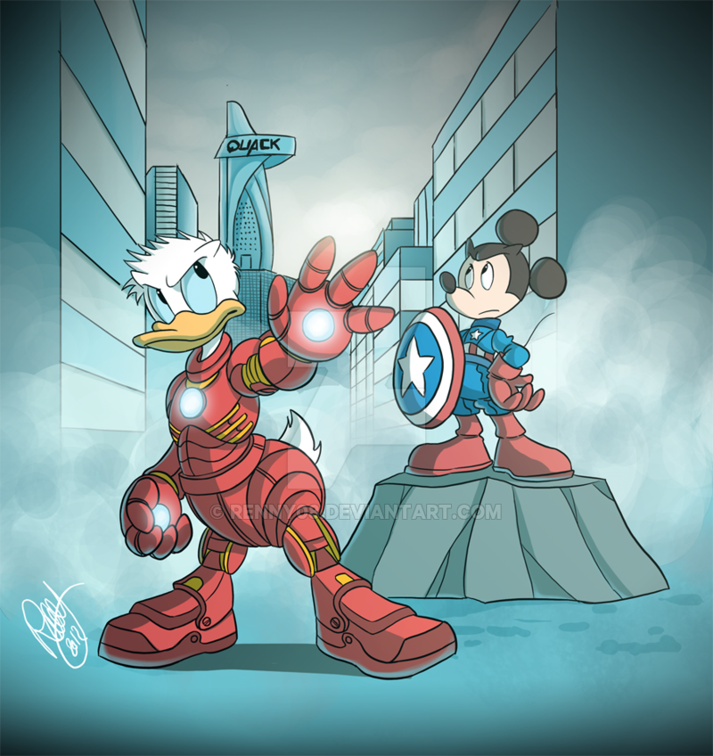 The Duck Avengers by Renny08 on DeviantArt