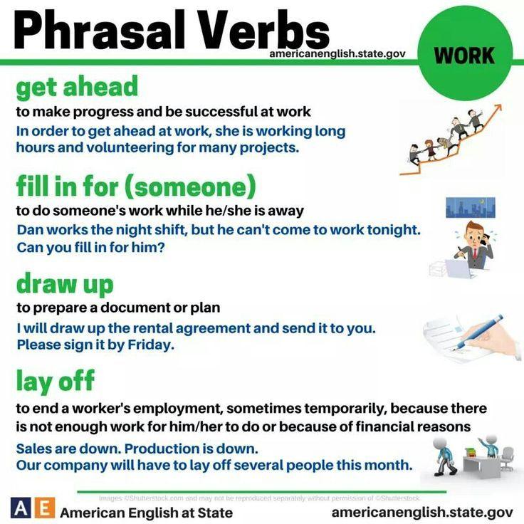 Phrasal verbs - work