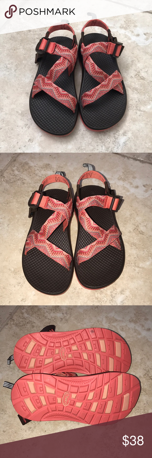 d6cd7ec956d9 Chaco Sandals These are in great condition. Size 13 - daughter wore these  maybe 3