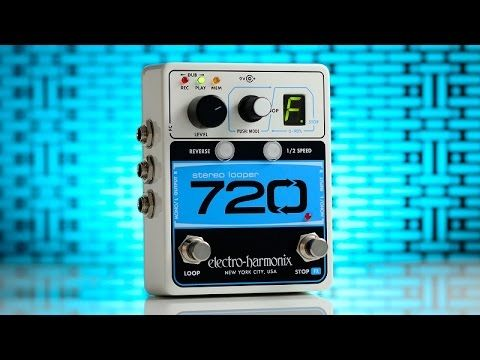 EHX.com | 720 Stereo Looper - Recording Looper | Electro-Harmonix