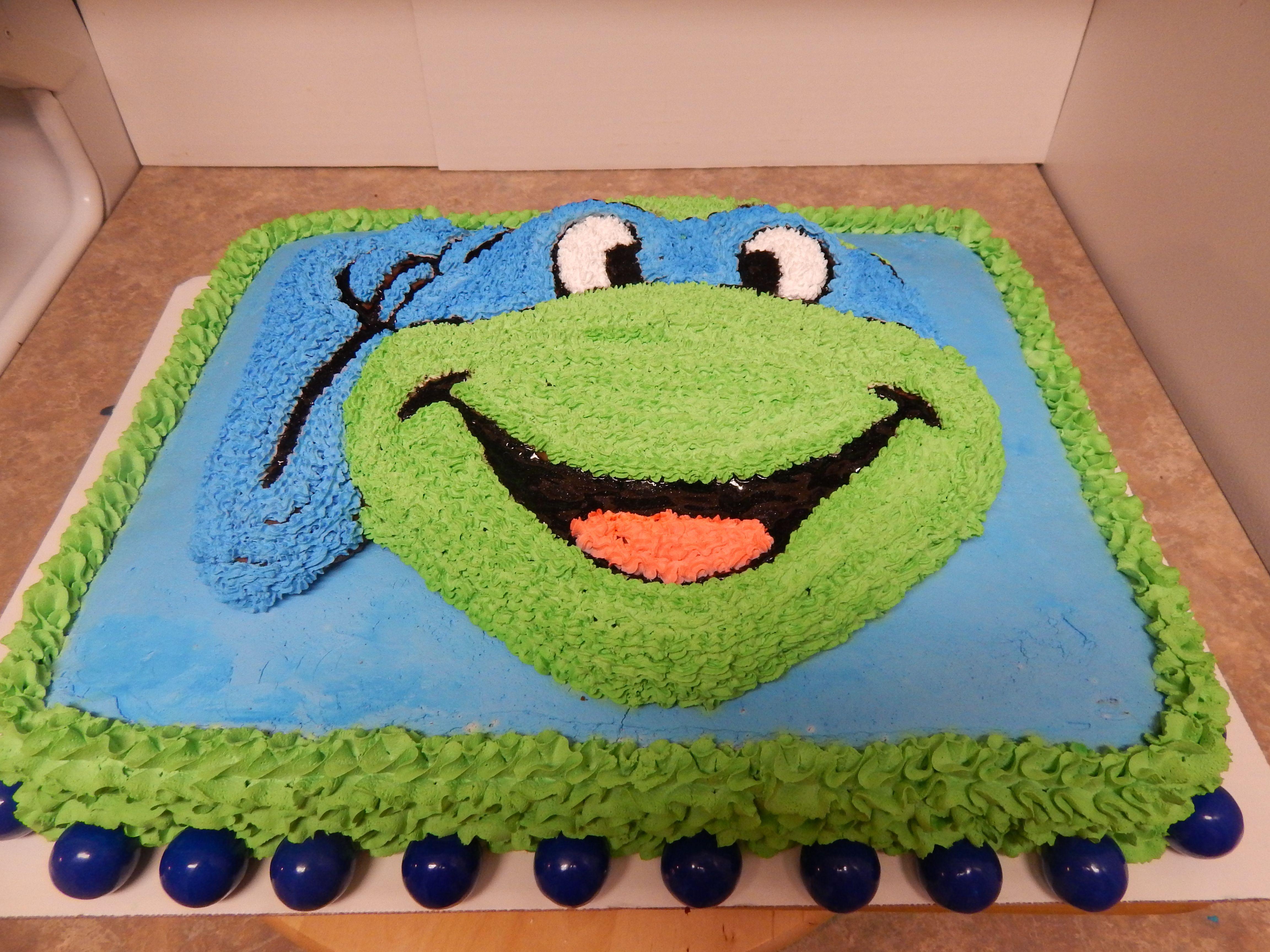 Leonardo Ninja Turtle Cakes