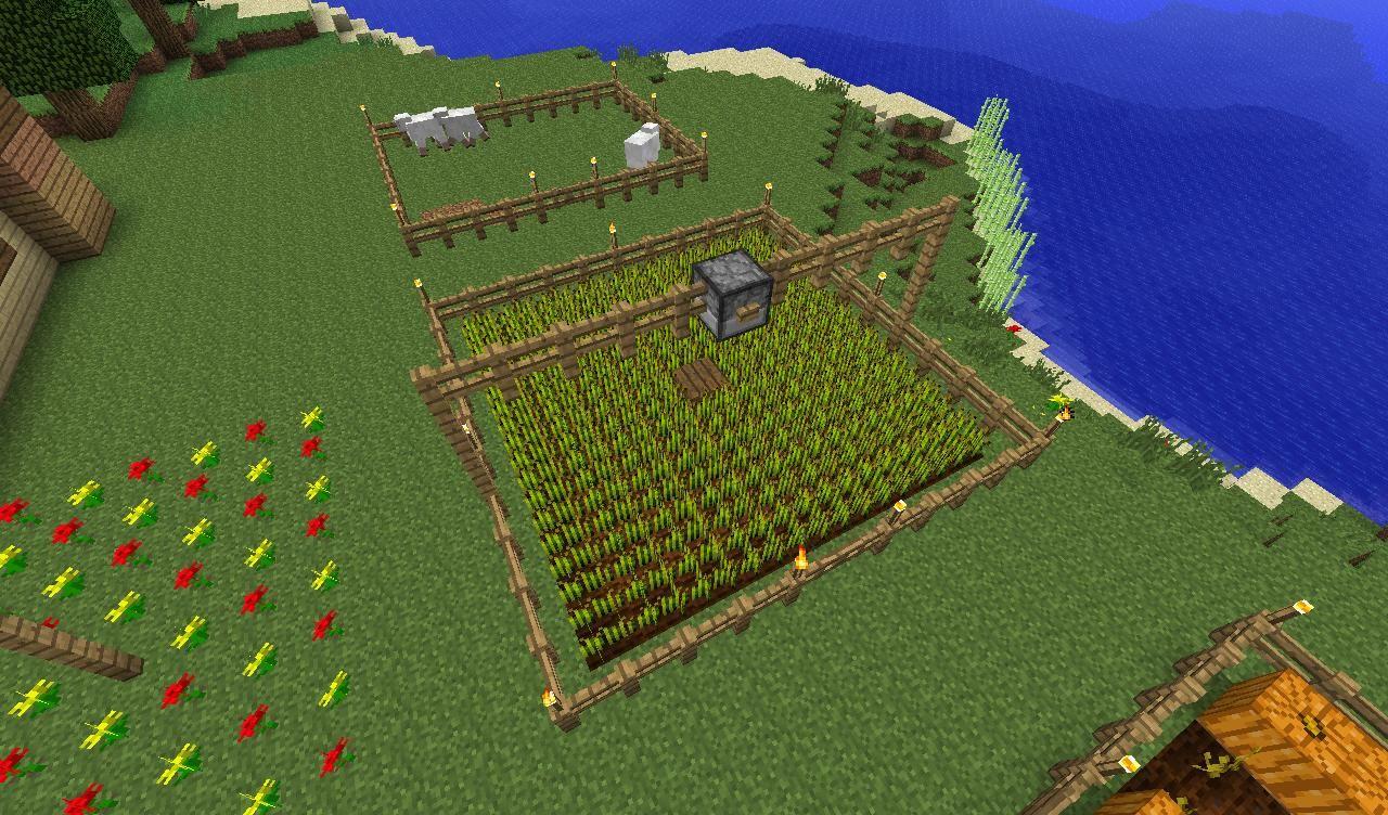 как в майнкрафте сделать ферму #7