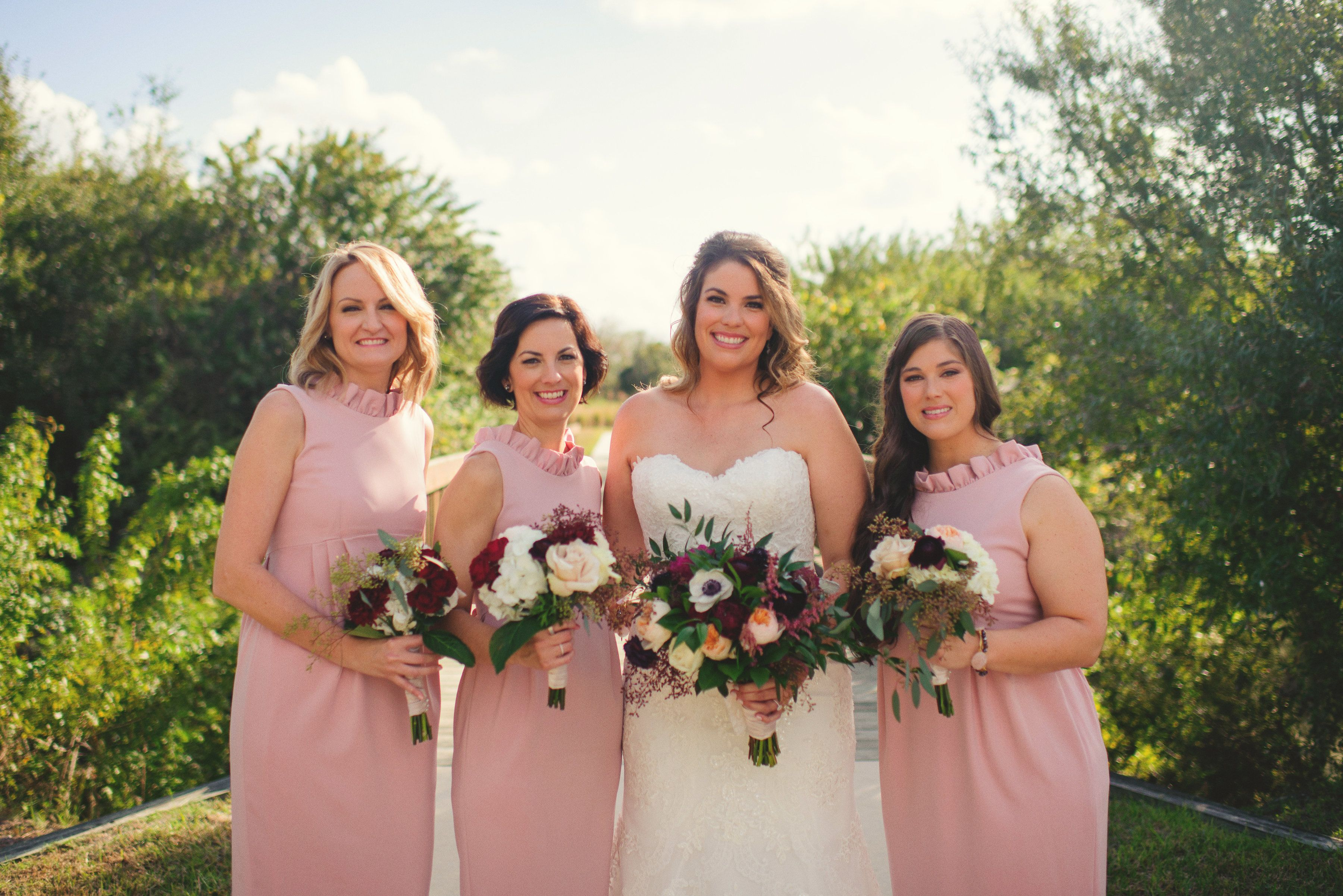 The go go gown in rose bridesmaid dress blushing bridesmaids the go go gown in rose bridesmaid dress blushing bridesmaids winter wedding inspiration ombrellifo Choice Image