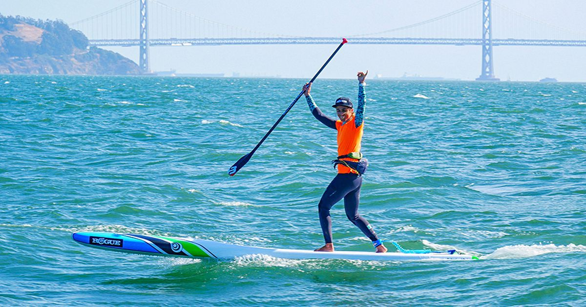 Top SUP Racer Olivia Piana Officially Joins Team Rogue