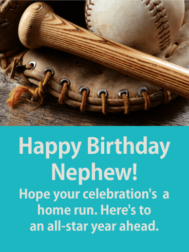To An All Star Year Ahead Happy Birthday Card For Nephew Birthday Greeting Cards By Davia Birthday Card For Nephew Happy Birthday Wishes Nephew Happy Birthday Wishes For A Friend
