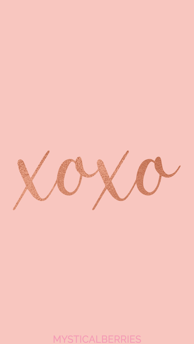 Xoxo Rose Gold Iphone Wallpaper For Your Phone Rose Gold Wallpaper For Your Iphone Rose Gold Wallpaper Iphone Gold Wallpaper Iphone Rose Gold Wallpaper