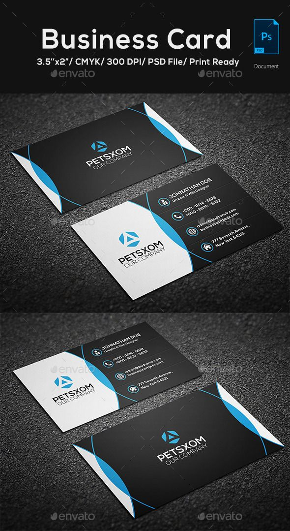 Modern Business Card Vol 5 Business Cards Creative Templates Business Cards Creative Modern Business Cards