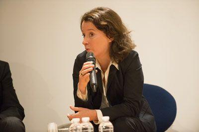 Bénédicte Legrand-Jung, Direction générale du travail, lors de la Journée d'information Seirich du 15/09/2015 à Paris © INRS