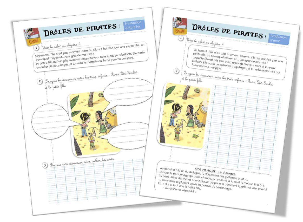 Plume Le Pirate Production D Ecrits Bout De Gomme Pirate Anniversaire Pirate