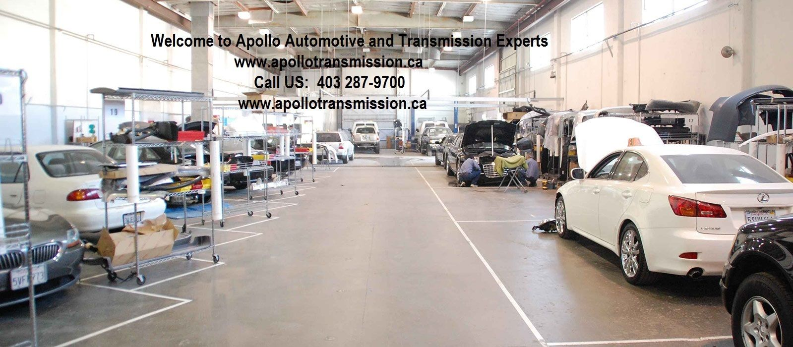 Apollo Transmission has been serving car owners in Calgary ...