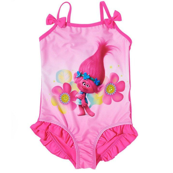 cabfd23f4970f Girls Trolls Swimsuit   Gracey   Swimsuits, Swim birthday parties ...