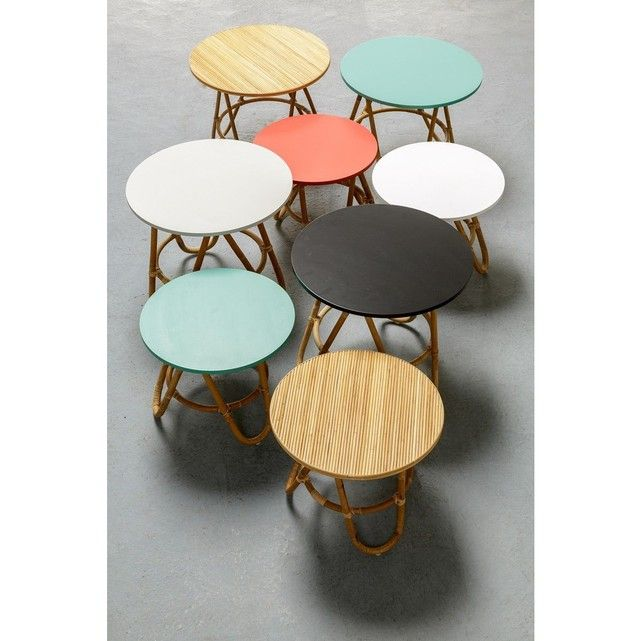 Table Basse En Rotin Diabolo Petit Modele Table Basse Table