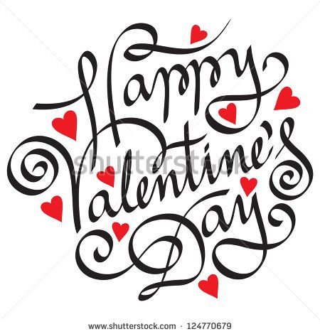 Stock Photos Royalty Free Images And Vectors Happy Valentines Day Calligraphy Happy Valentines Day Happy Valentines Day Images