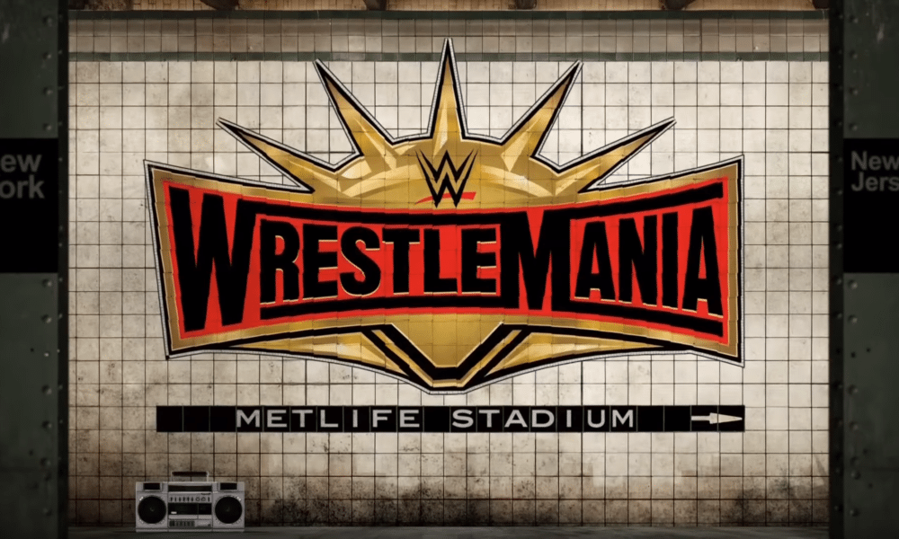 Watch Wwe Removed Women From Wrestlemania 35 Promo During Crown Jewel Wrestlemania Wrestlemania 35 Wwe