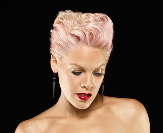 Pinks Hair Style: Alicia Beth Moore A.k.a. Pink, Singer, Songwriter