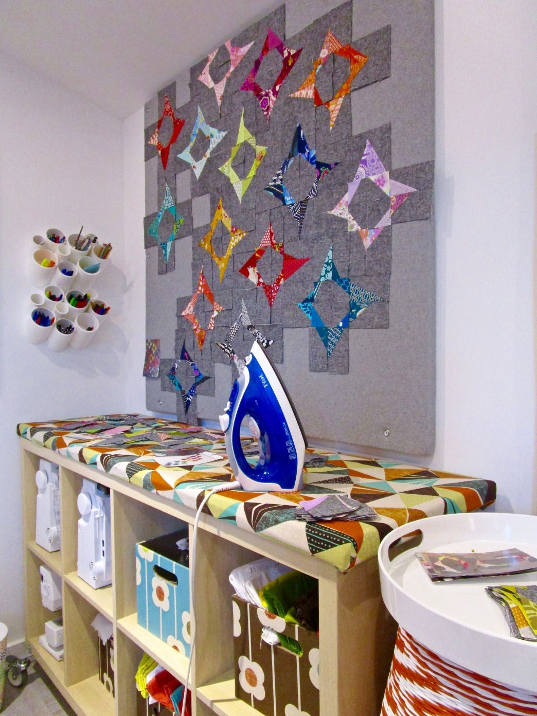 Designing A Sewing Room: ::Quilt Design Wall Tutorial Revamp::