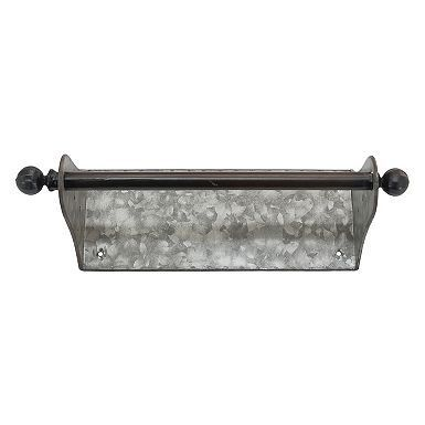 Galvanized Wall Mounted Paper Towel Holder #papertowelholders Accessorize your rustic kitchen with style and function with our Galvanized Wall Mounted Paper Towel Holder! You'll love its simple design and industrial look. #papertowelholders Galvanized Wall Mounted Paper Towel Holder #papertowelholders Accessorize your rustic kitchen with style and function with our Galvanized Wall Mounted Paper Towel Holder! You'll love its simple design and industrial look. #papertowelholders