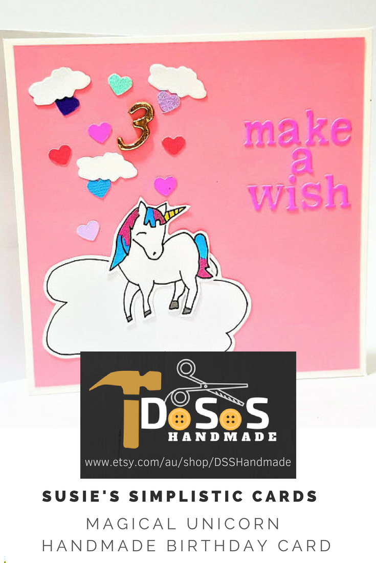 magical unicorn bday card  fantasy cards with images
