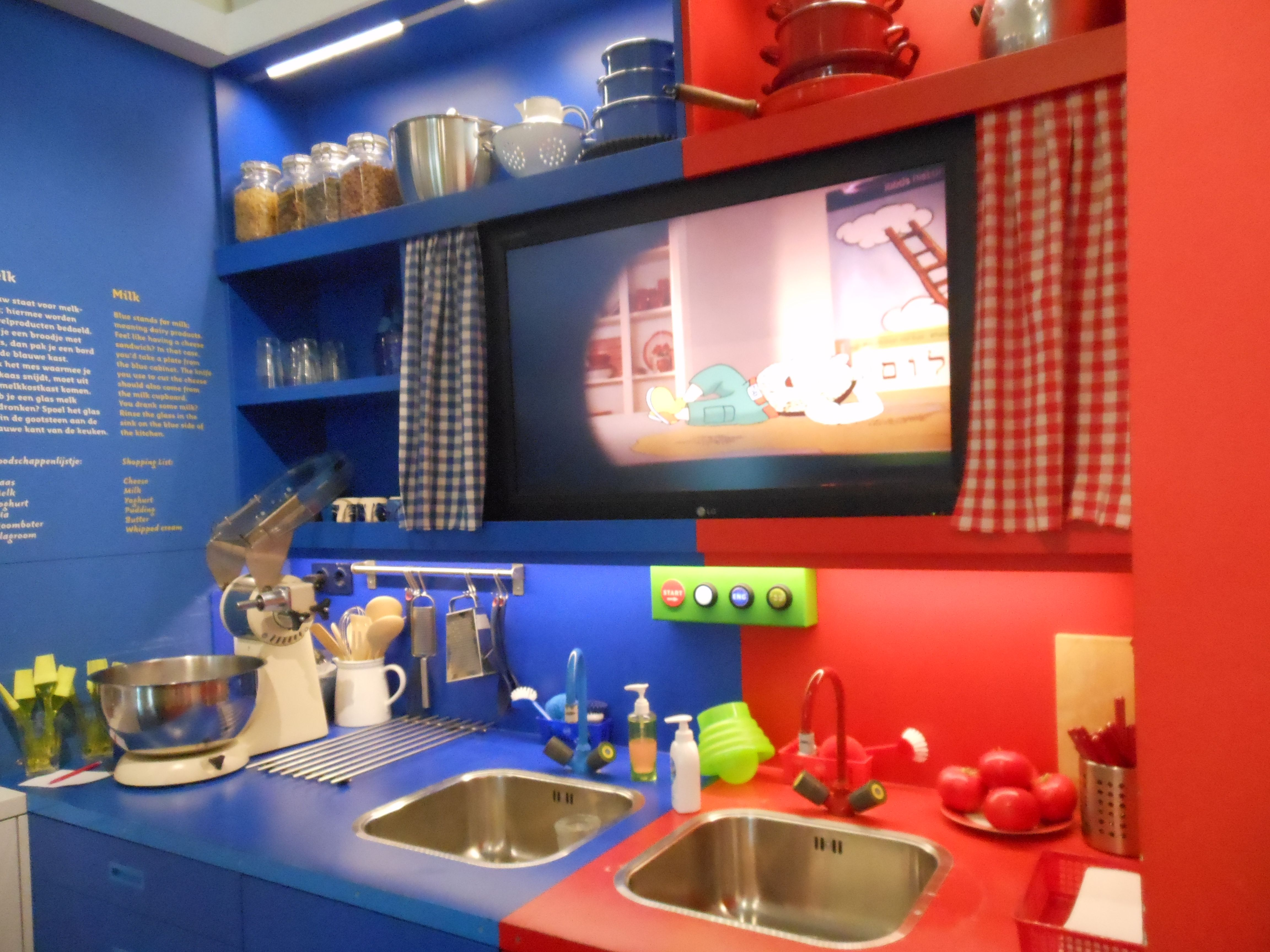 Kosher kitchen Amsterdam Jewish Museum Holland 2013