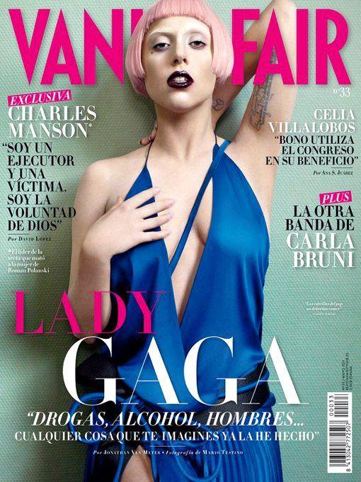 cover vanity Lady gaga fair