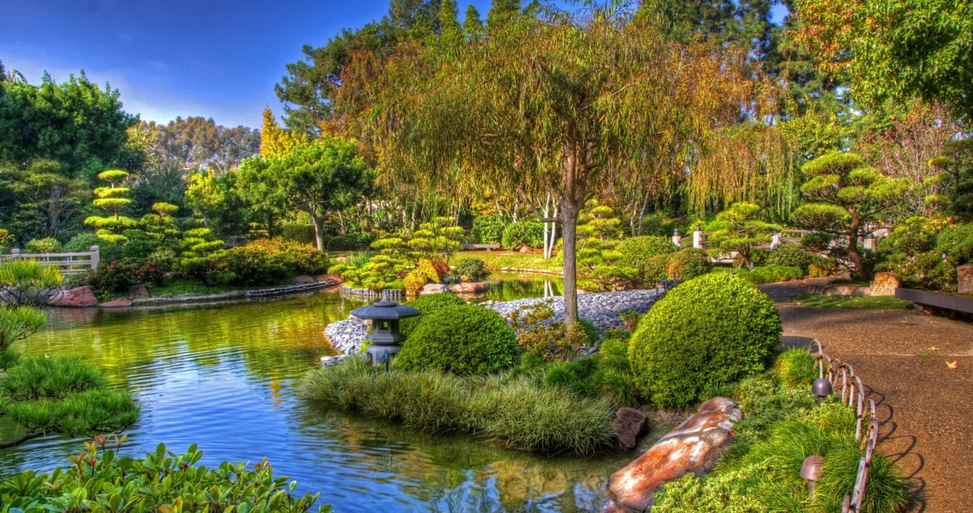 Japanese Garden Wallpapers: Earl Burns Miller Japanese California 4k Ultra Hd