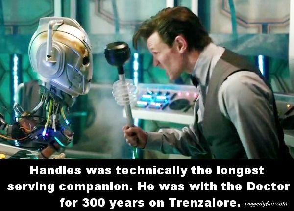 doctor who companion handles