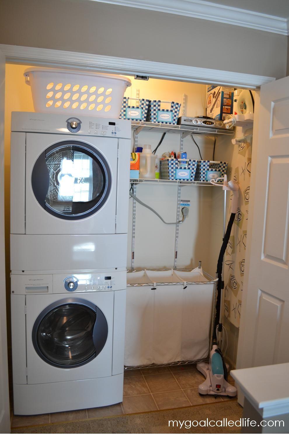 laundry room closet organization | small laundry rooms | laundry1