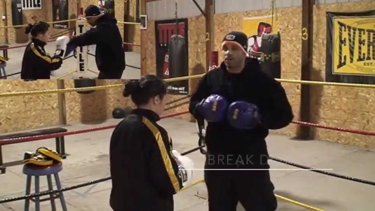 Coach Rick S Mittology Training Philly Shell Shoulder Roll Defense R Boxing Workout Train Coach