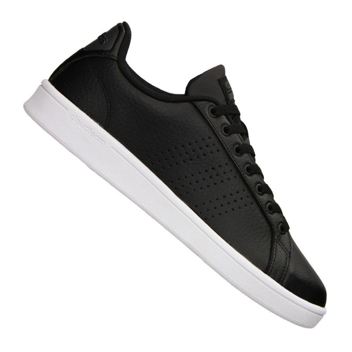 Buty Adidas Cloudfoam Adventage Clean M Aw3915 Czarne Adidas Cloudfoam Black Shoes Sports Shoes Adidas