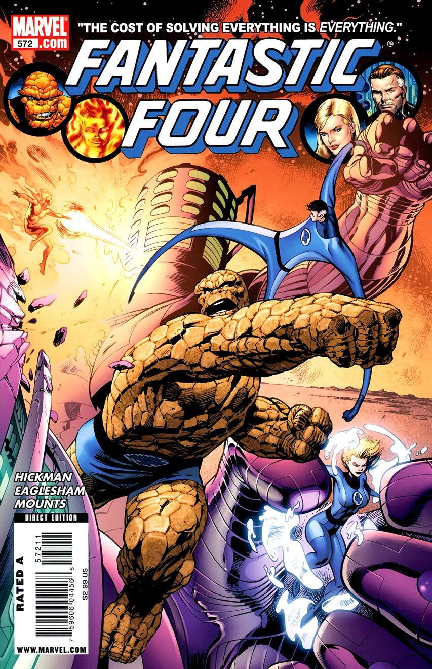 Fantastic Four Vol 1 572 Fantastic Four Marvel Marvel Comics Art Fantastic Four