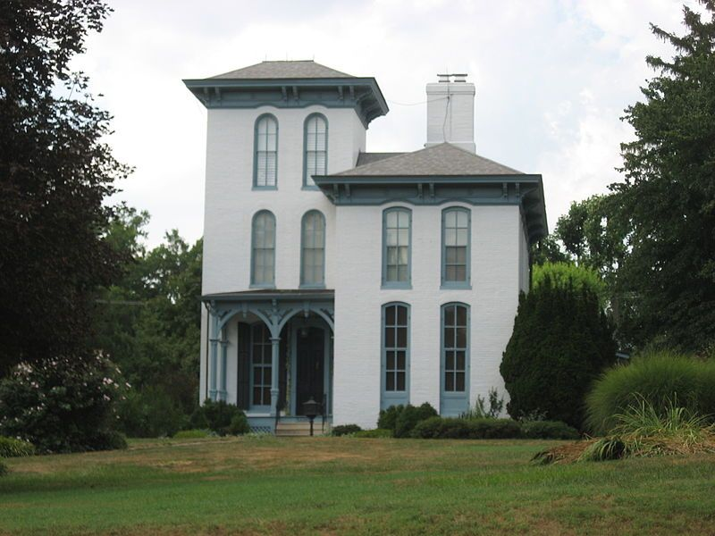 The John Carney House In Troy Illinois Was Built In 1871 For John Carney A Local Businessman His House Madison County National Register Of Historic Places