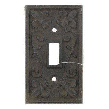 Rust Cast Iron Single Switch Plate Hobby Lobby 466151 In 2021 Decorative Switch Plate Switch Plates Hobby Lobby