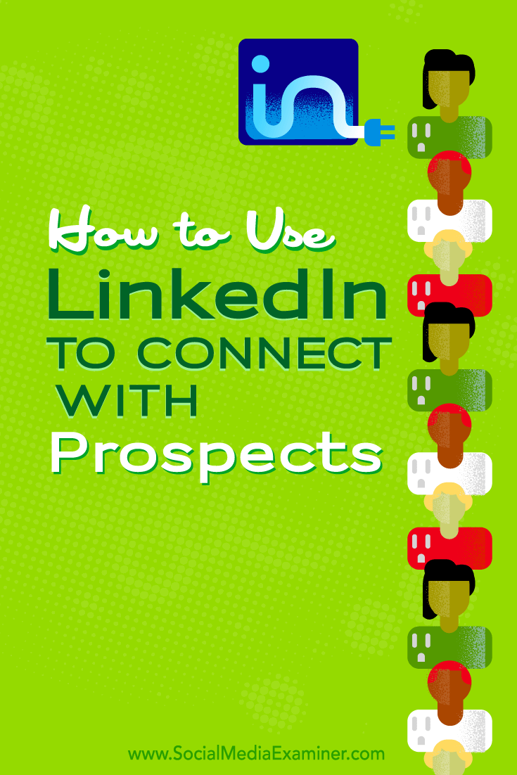 how to use linkedin to find clients