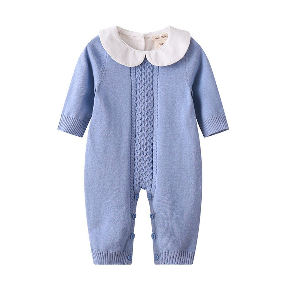 737f933c2 IYEAL Thick Warm Infant Baby Rompers Winter Clothes Newborn Baby Boy ...