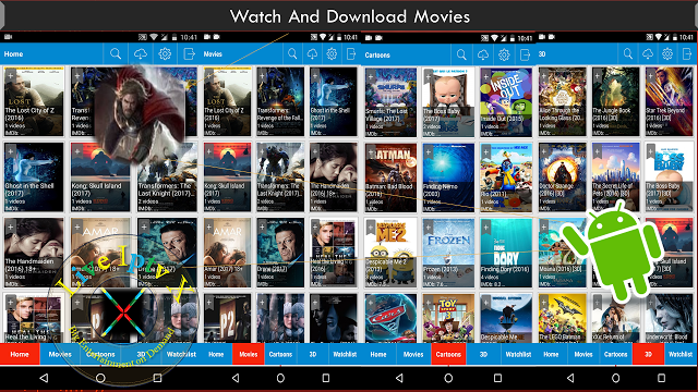 Watch TV Stream Online NEWEST 3D MOVIES APK With Ads