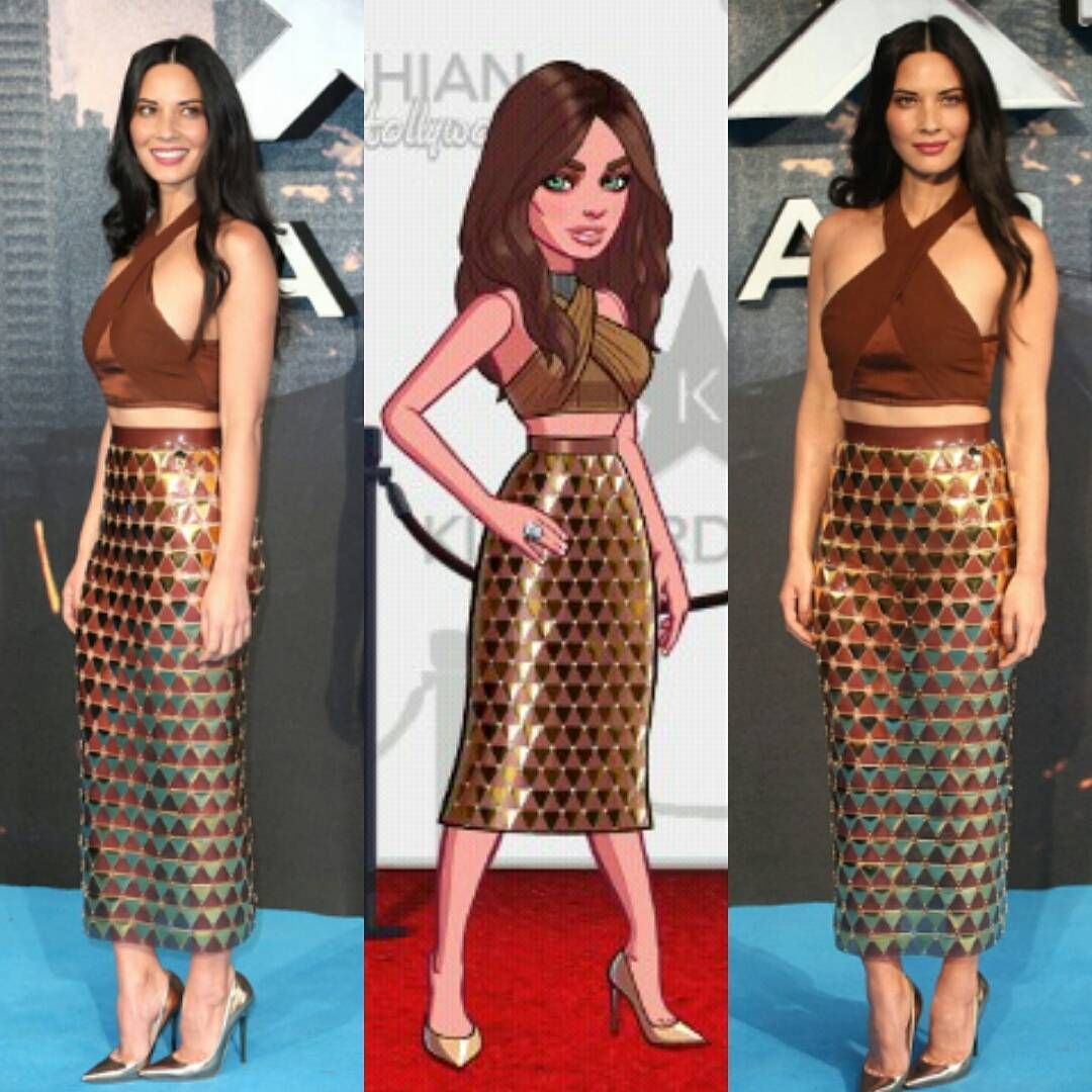 @OliviaMunn on X-Men Apocalypse premiere inspired wearing balmain #kkh#kimklife#kimkhollywood…