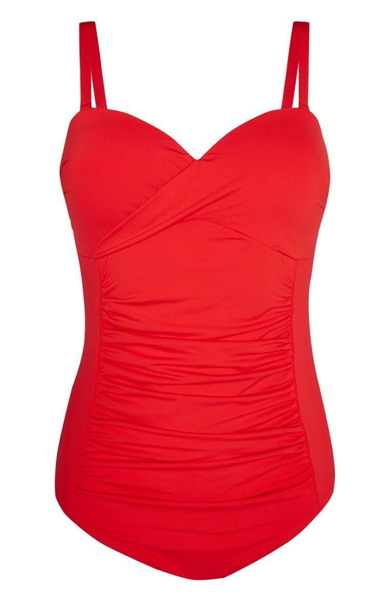 ganz nett neue Season stylistisches Aussehen Primark - Figurformender Badeanzug mit Zierfalten | Fashion ...