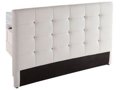 Tete De Lit Capiton Blanc Code Article 480544 140 Meuble Deco Chambre