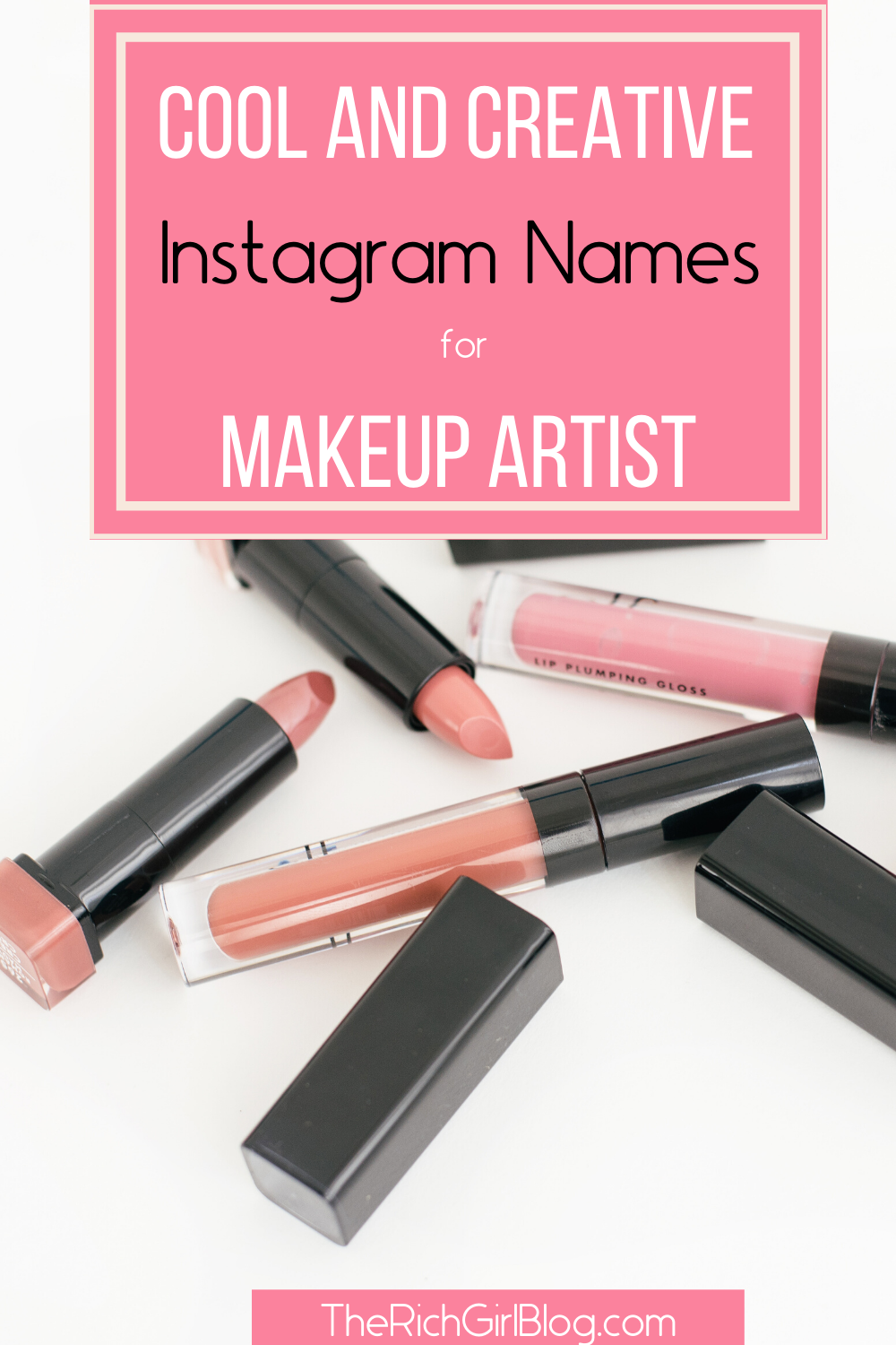 100+ Of The Best Makeup Artist and Beauty Instagram Names