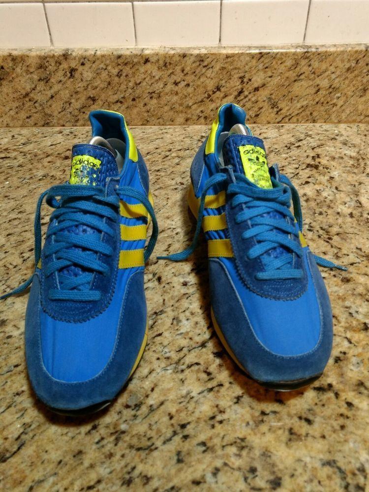 Interrupción facultativo Solicitante  Vintage Adidas TRX Running Shoes Rare #3320-02 Size 8 *Made in Yugoslavia*  | Vintage adidas, Running shoes, Best mens fashion