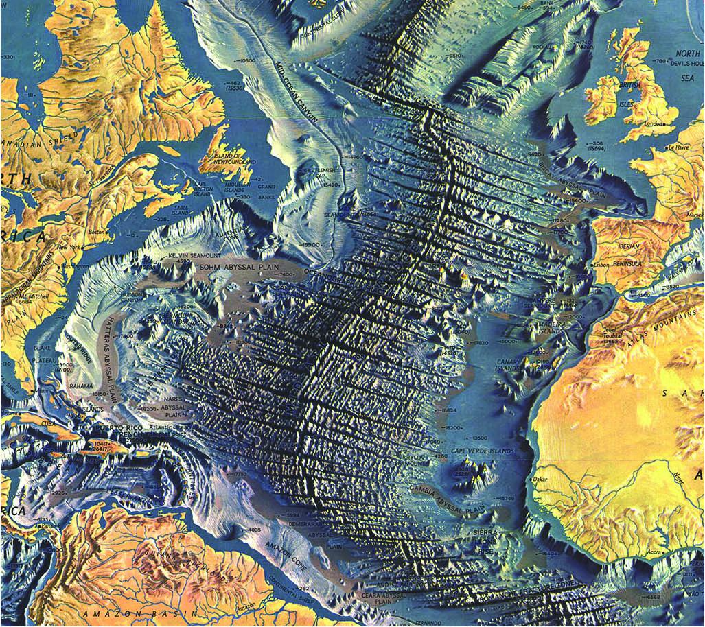 Relief map of atlantic ocean floor maps pinterest map design relief map of atlantic ocean floor gumiabroncs Image collections