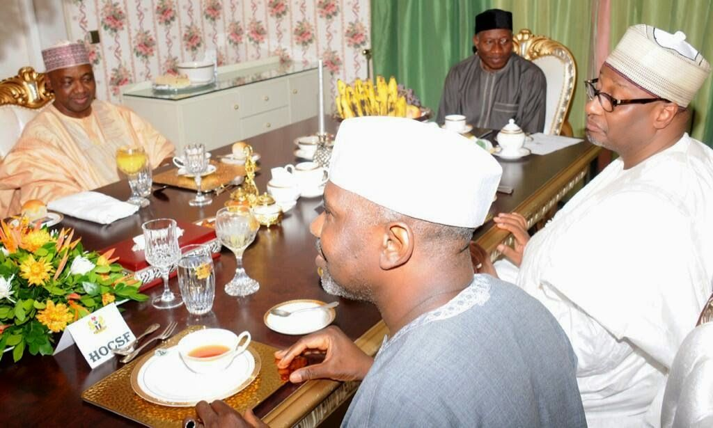 GOSSIP, GISTS, EVERYTHING UNLIMITED: Photos: Pres. Jonathan Breaking Ramadan Fast with ...
