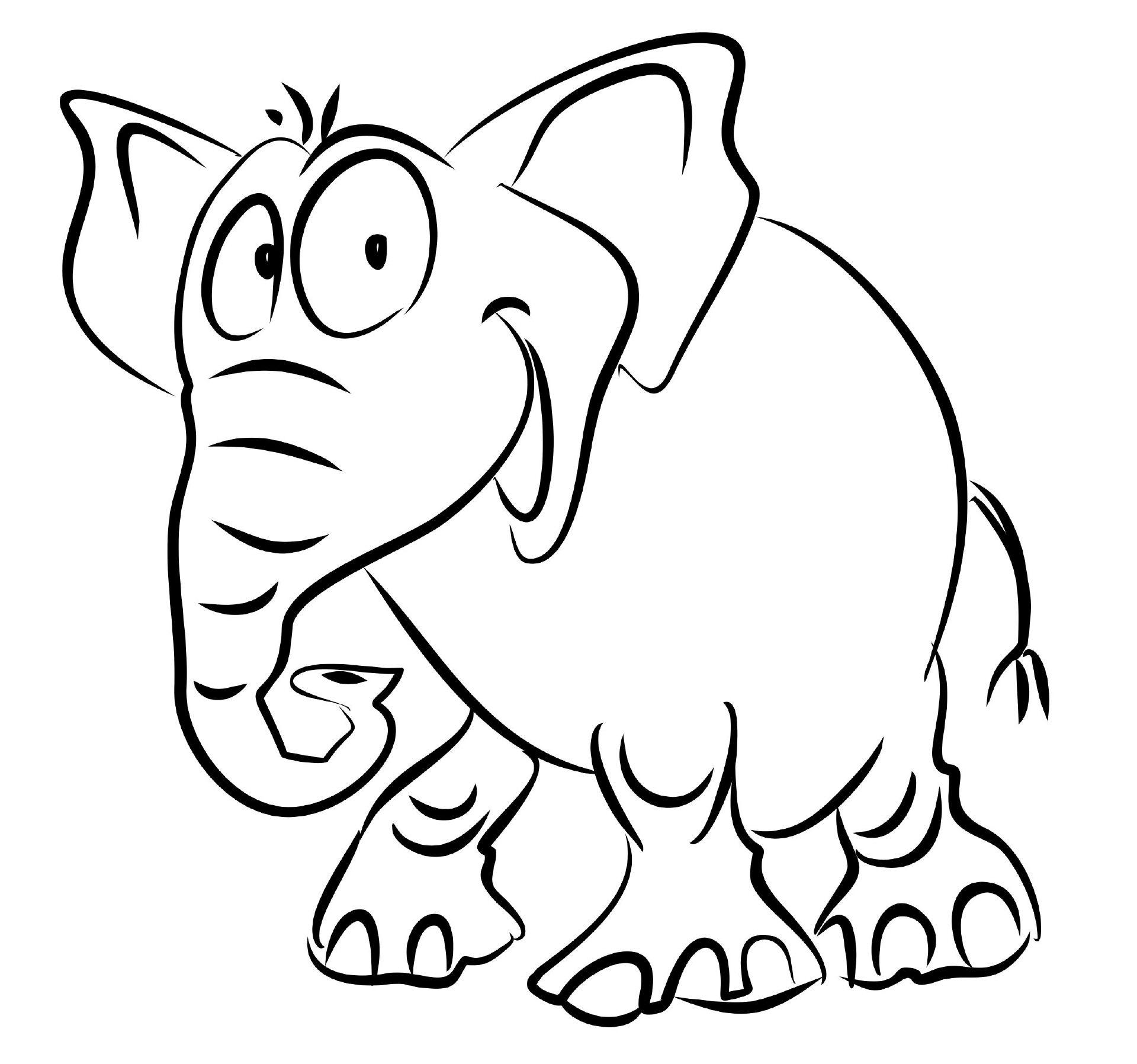ausmalbilder tiere elefant  28 images  ausmalbilder